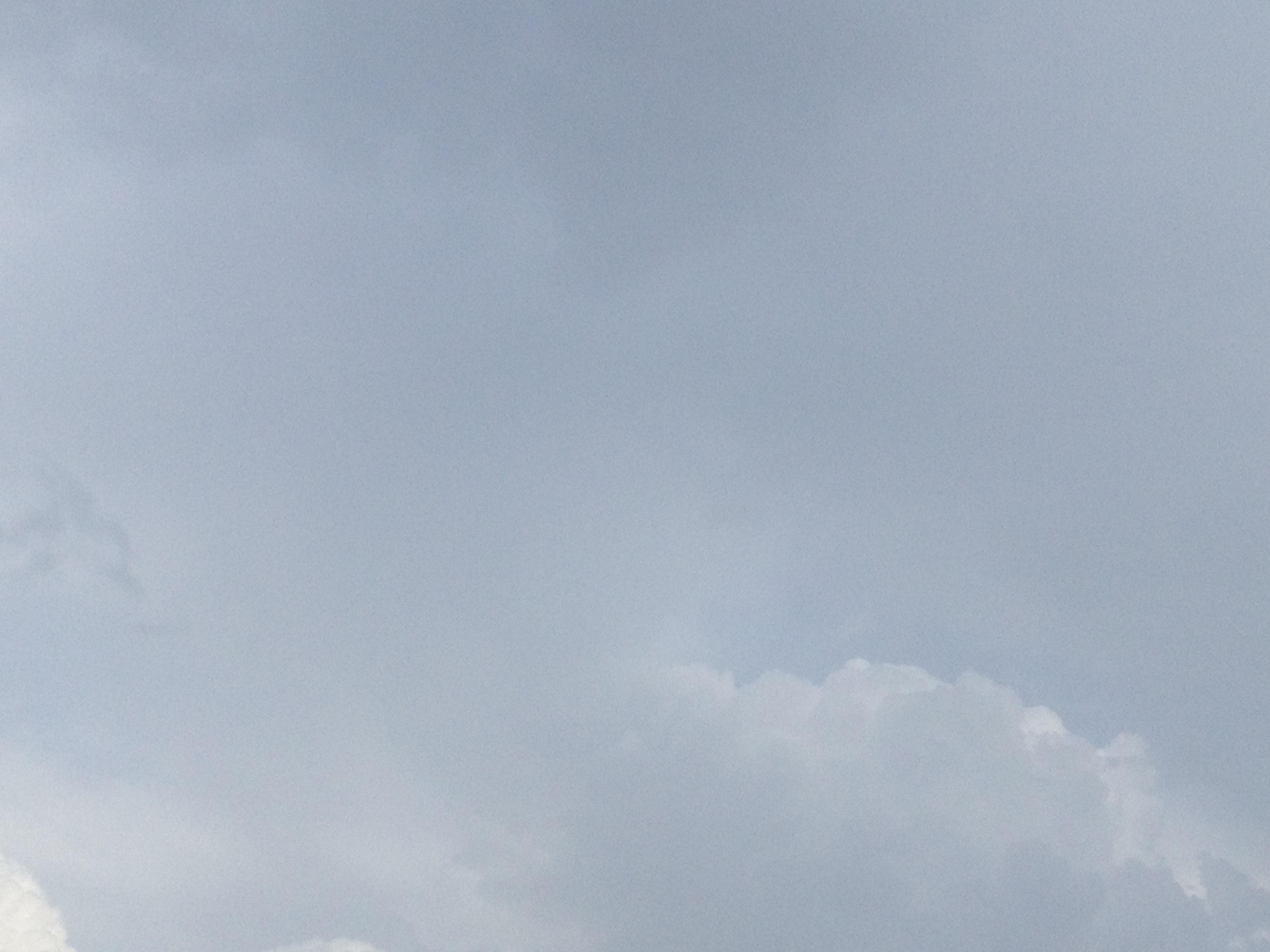 向こうの雲