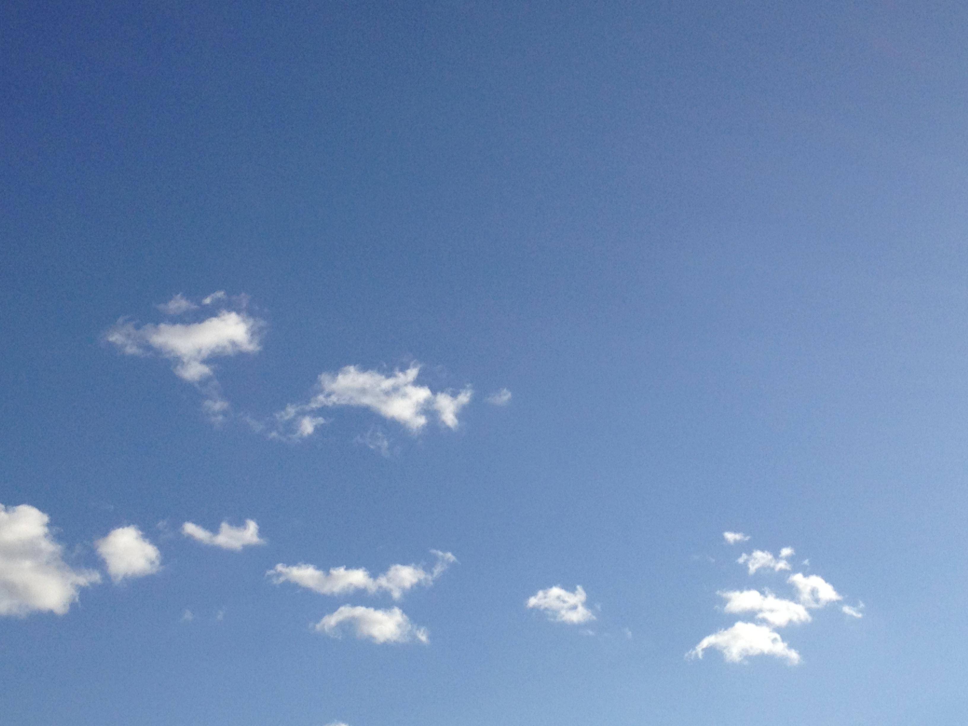 小さな雲達