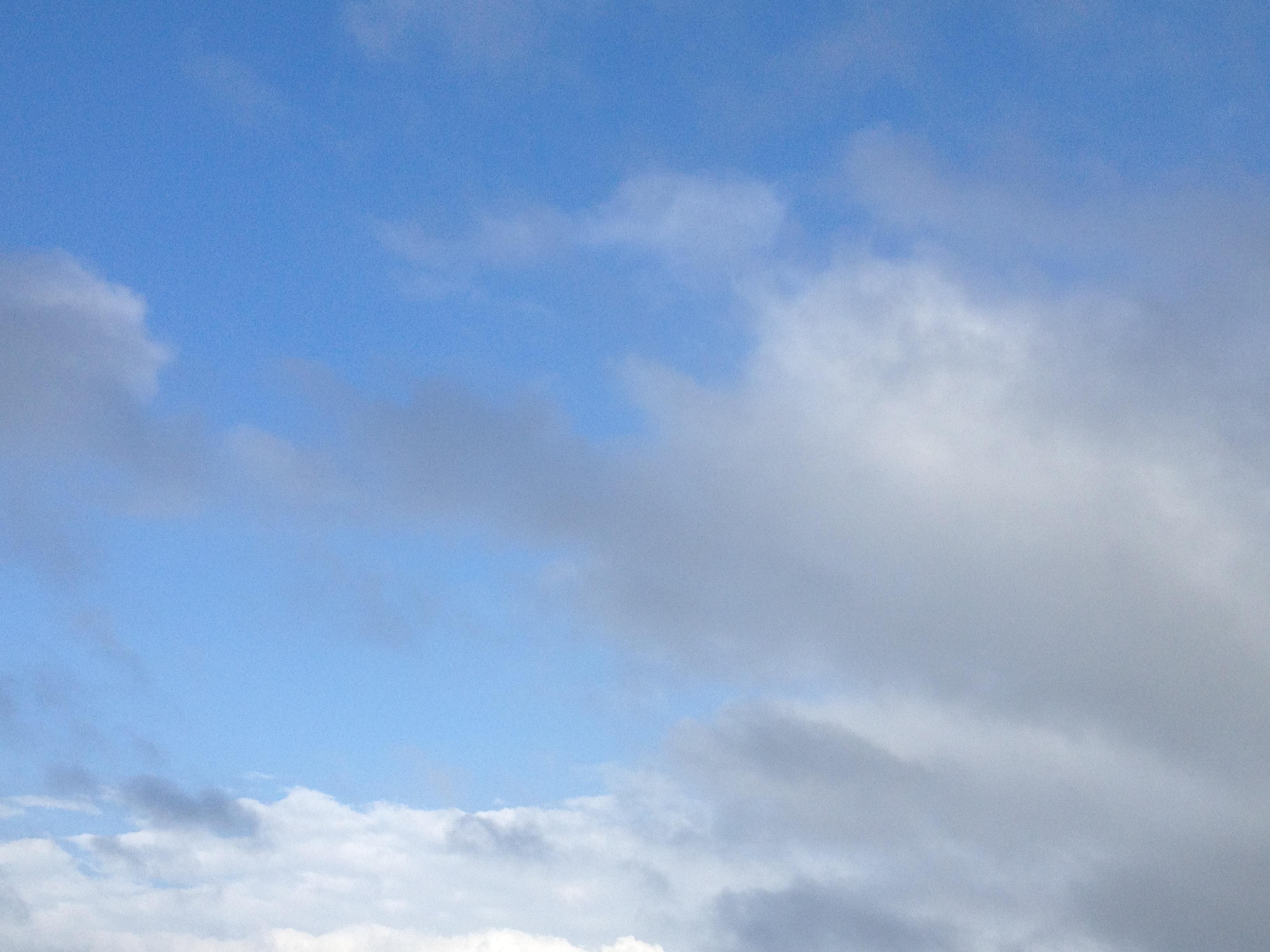 白い雲の大地